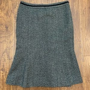 Zara tweed pencil pencil skirt size small
